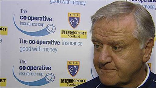Kilmarnock manager Jim Jefferies