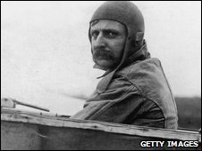 French aviator Louis Bleriot made the first historic flight across the English Channel