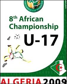 The logo for the African Under-17 Championship