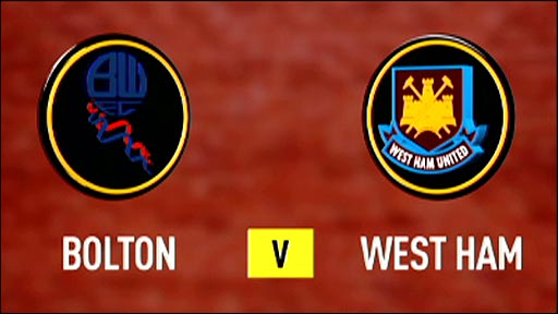 Bolton Wanderers v West Ham United
