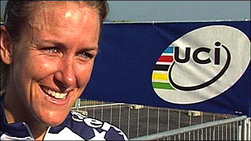American Kristin Armstrong