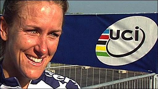 American Kristin Armstrong