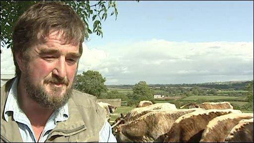 Rare breeds farmer Kenny Gracey