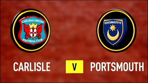 Carlisle United v Portsmouth