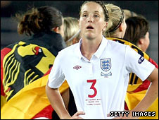 England's women lost to Germany in the final of the European Championships