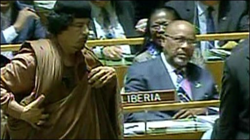 Muammar Gaddafi