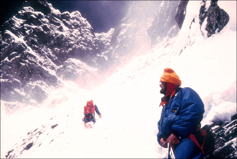 Chris Bonington and Doug Scott on Everest