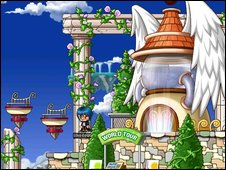 Screenshot from Maple Story, Nexon Europe
