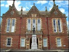 Stranraer Sheriff Court - Crown copyright image