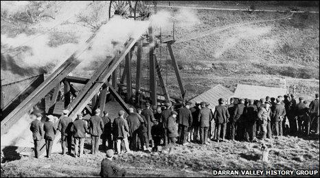 Darran pit explosion 1909