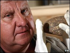 Terry Herbert, who found The Staffordshire Hoard