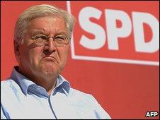 SPD leader Frank-Walter Steinmeier