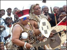 Jacob Zuma at his wedding ceremony last year