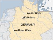Kalkriese map