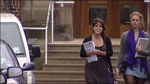 Princess Eugenie at Newcastle University