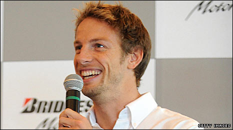 World championship leader Jenson Button