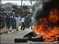 Riots in 2007