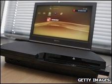 Slim PS3 console