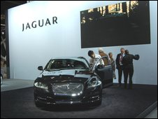 Jaguar at the 2009 Frankfurt motor show