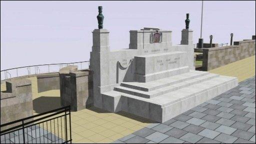 Norwich's war memorial gardens