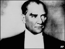 Mustafa Kemal Ataturk, founder of modern Turkey