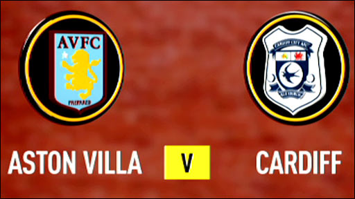 Aston Villa v Cardiff
