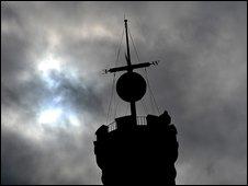 Edinburgh time ball pic courtesy of Deadline