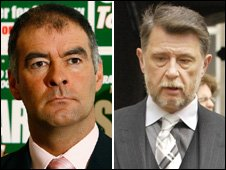 Tommy Sheridan and Donald Findlay