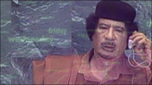 Col Gadaffi