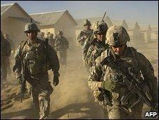 US soldiers in Afghanistan - 2009