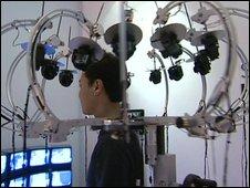 360 degree CCTV around your head.