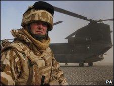 Maj Gen Andrew Mackay in Afghanistan