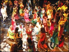 A Navratri celebration