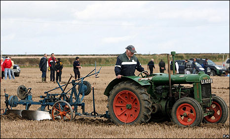 National Ploughing Championships in Co Kildare, Ireland, 22 Sep 09