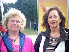 Agnes O'Keeffe (left) and Kathleen Long