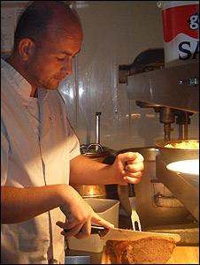 Chef Adrian Bridgeman