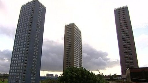 Glasgow scene