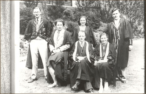 Bangor students during World War II