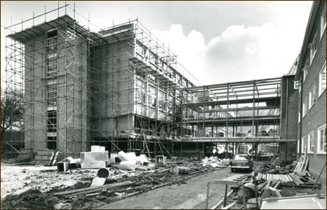 Building the Dean Street site of the university