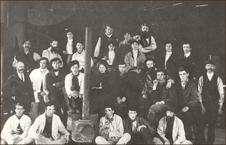 1905 Bangor University choir