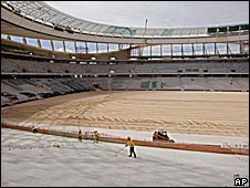 Cape Town's Green Point stadium