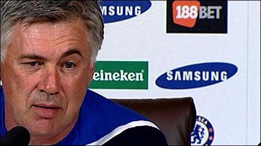 Chelsea boss Carlo Ancelotti