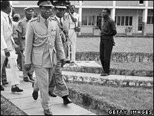 1 March 1966: General Joseph Ankrah, one of the Ghanaian military leaders who came to power in the coup which ousted Kwame Nkrumah