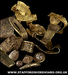 Part of the Staffordshire Hoard