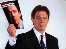 Tony Blair in 1997
