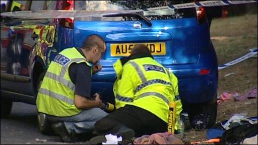 Worlingham crash
