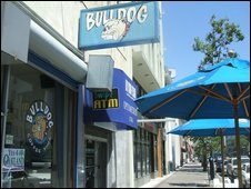 The Bulldog Cafe in Oakland, California