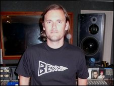 Geoff Barrow from Portishead