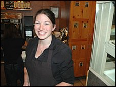 Pittsburgh coffee shop manager, Caitlin Woodson