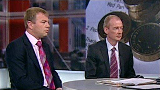 Neil Robertson and Pat McFadden